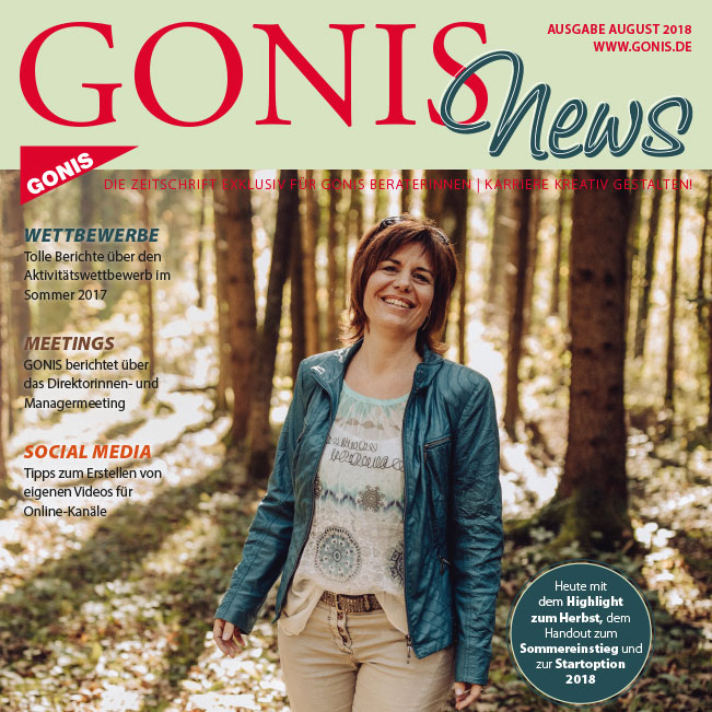 Mitarbeitermagazin: GONISnews